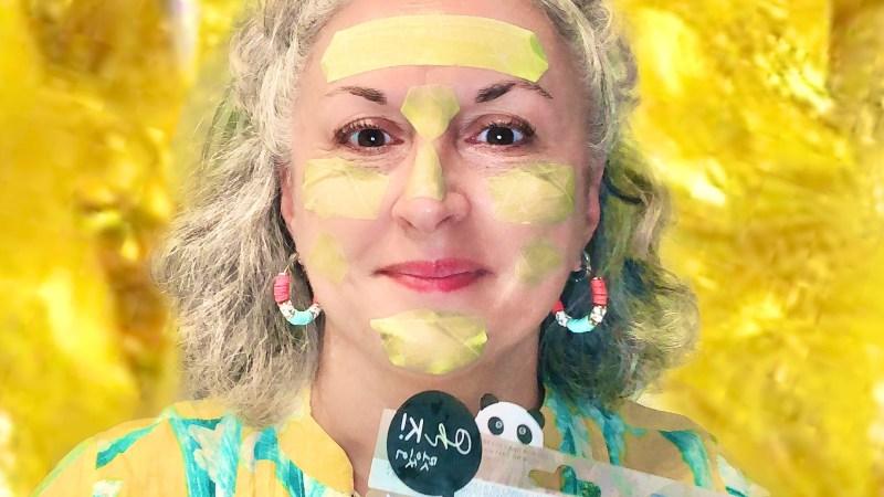 Mini masques Oh K! Chok chok reviving gemstone à l'extrait de citron