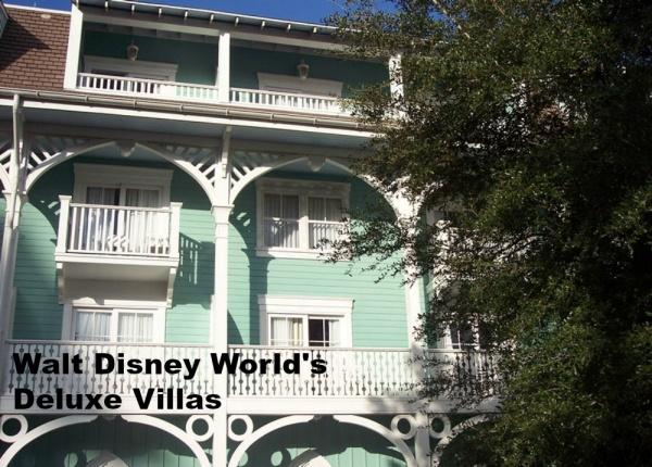 Walt Disney World's Deluxe Villa Resorts