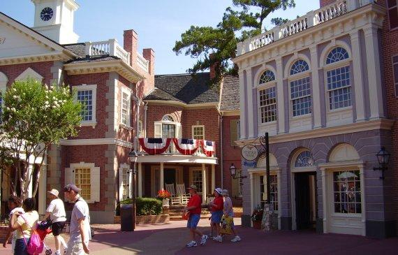 Liberty Square fun facts