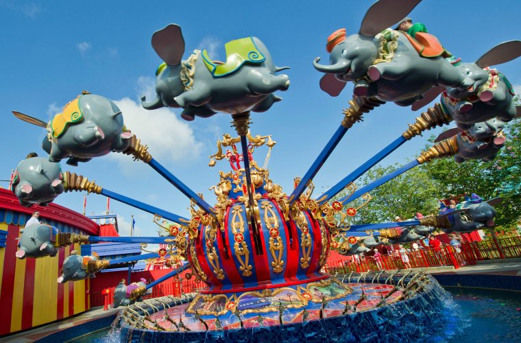 Dumbo Attraction at Walt Disney World