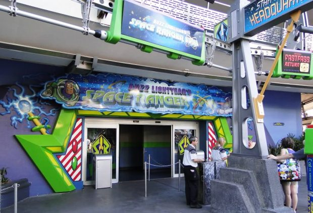Buzz Lightyear Space Ranger Spin Sign