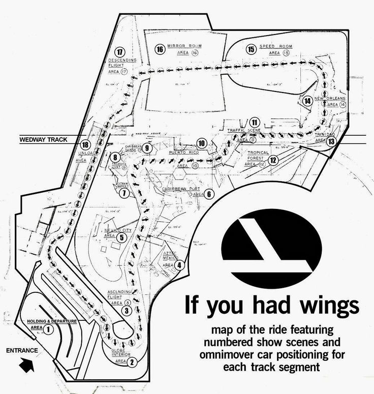 If You Had Wings Disney Floor Plan