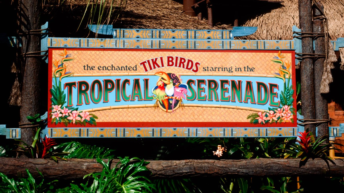 Tropical Serenade Magic Kingdom Walt Disney World Opening Day