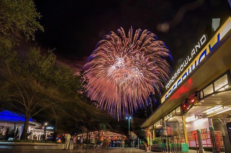 Tomorrowland Fireworks