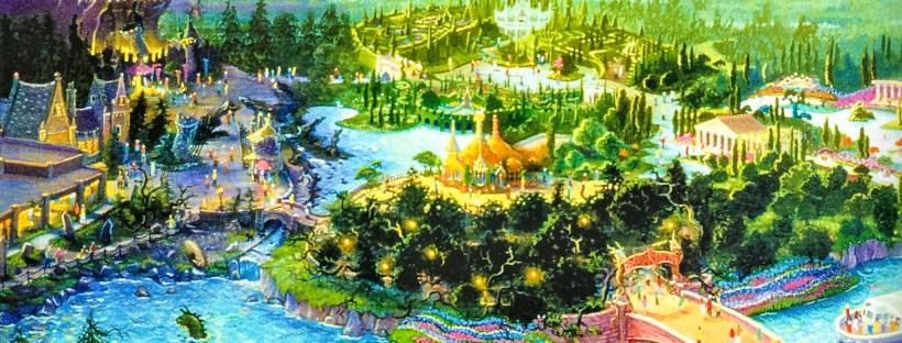 Beastly Kingdom at Animal Kingdom Concept Art