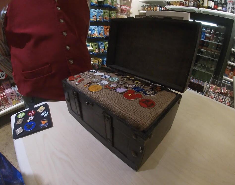 Rare Disney Pin Traders at Boardwalk Resort