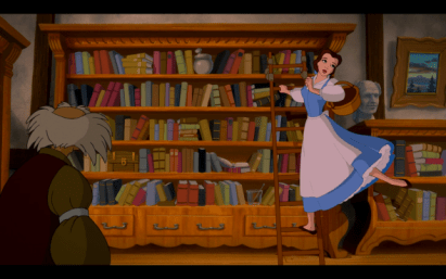 Belle Disney books