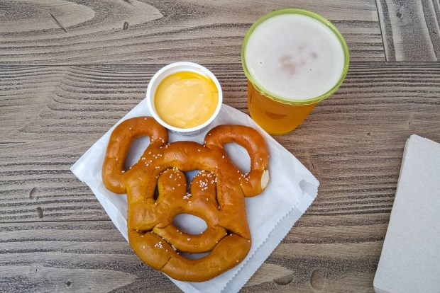 Mickey-Shaped Food - Pretzel 2