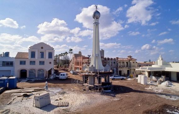 Hollywood Studios Construction