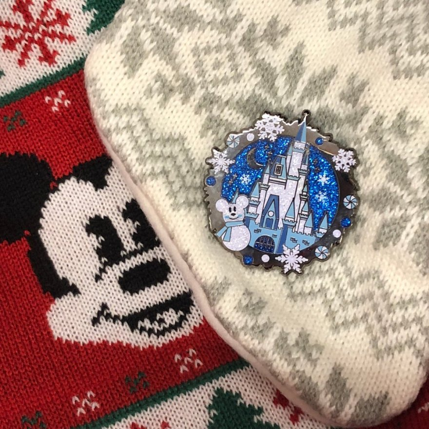 Winter Wonderland Disney Pin