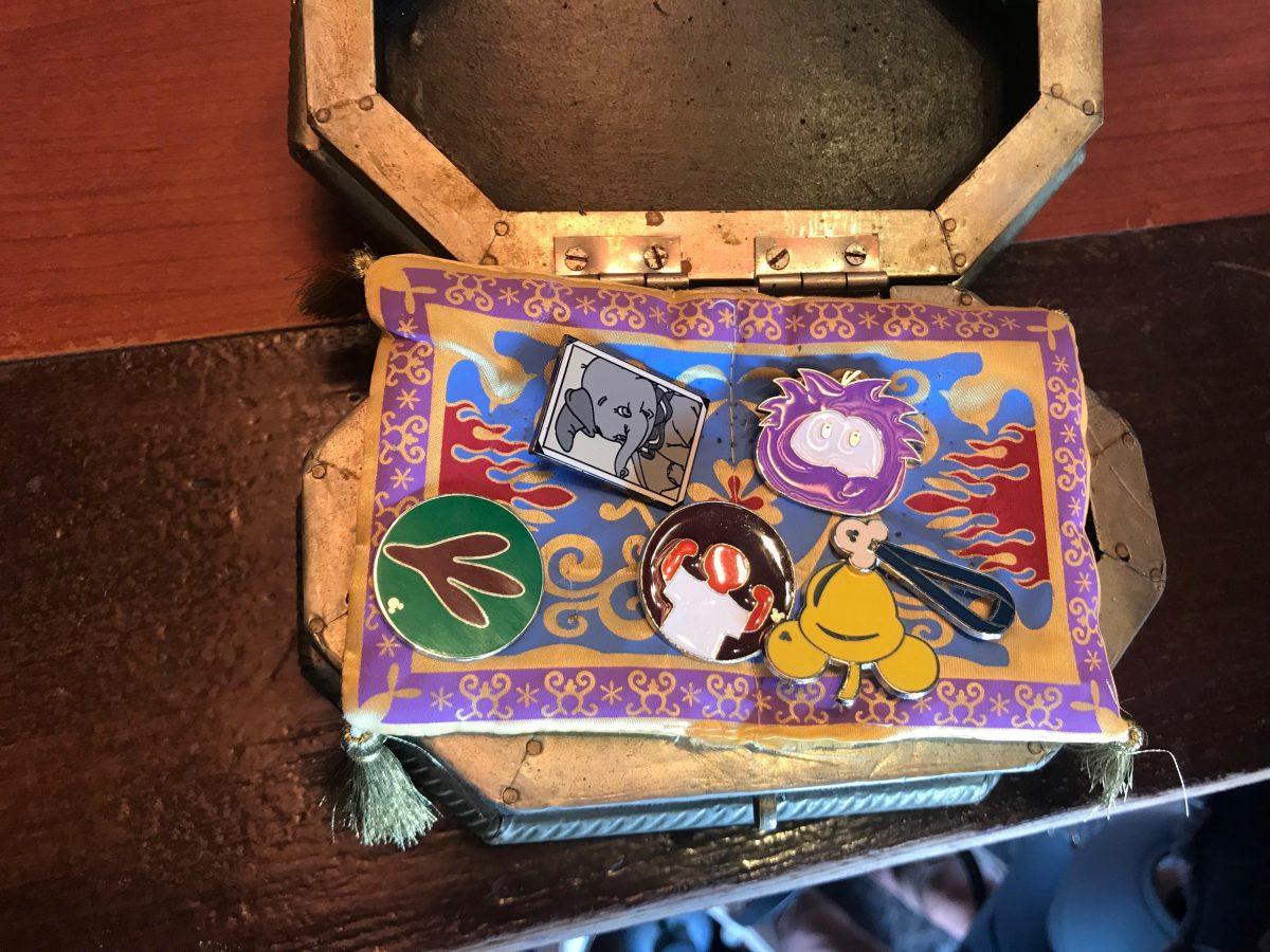 Disney Pin Trading Book Hidden Pin Board