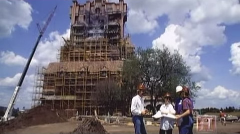 Construction of the Tower of Terror
