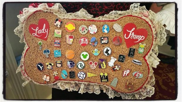 Tony's Town Square Pin Board