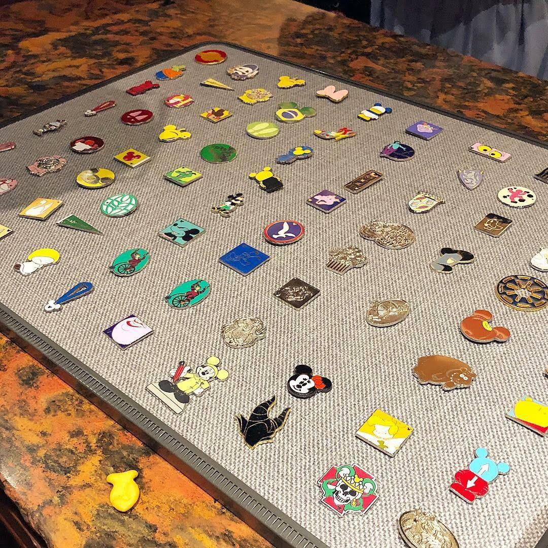 Magic Kingdom Stroller Rental Pin Board