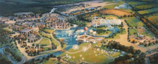 Rendering of Disney's America