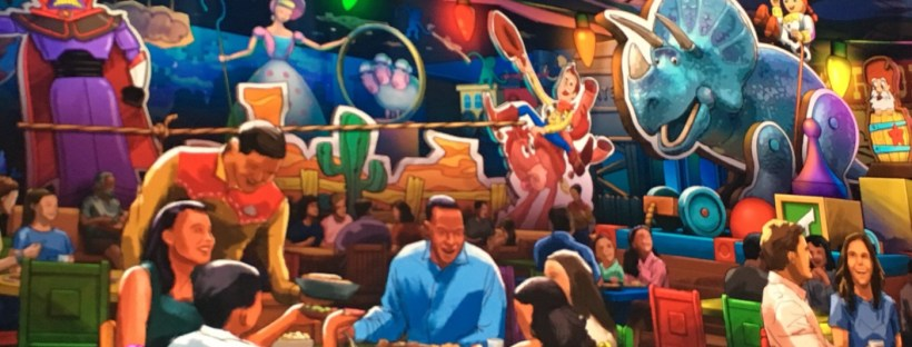 Toy Story Table Service Restaraunt