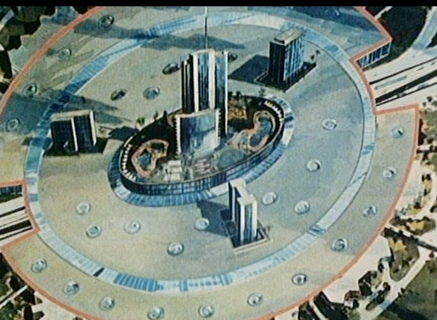 Domed City with Roof Epcot