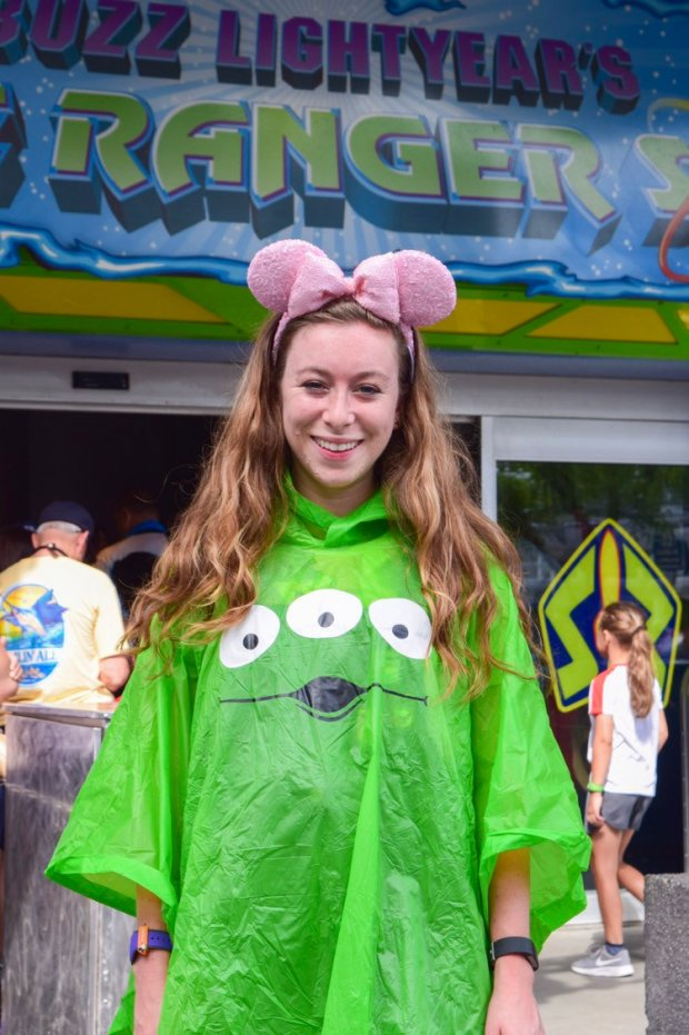 Fun Disney Rain Ponchos