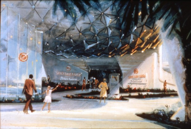 Concept Art Spaceship Earth