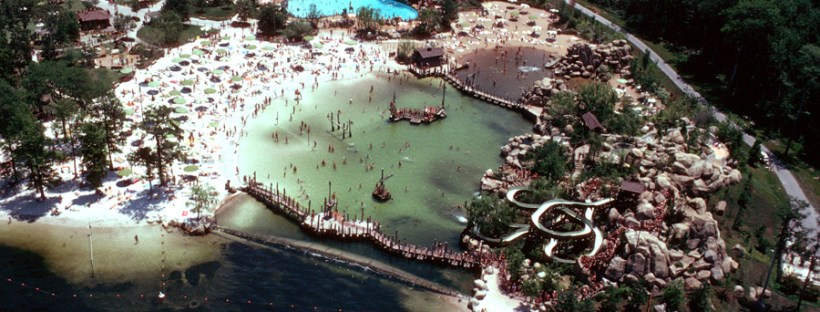 Aerial image of River Country Waterpark