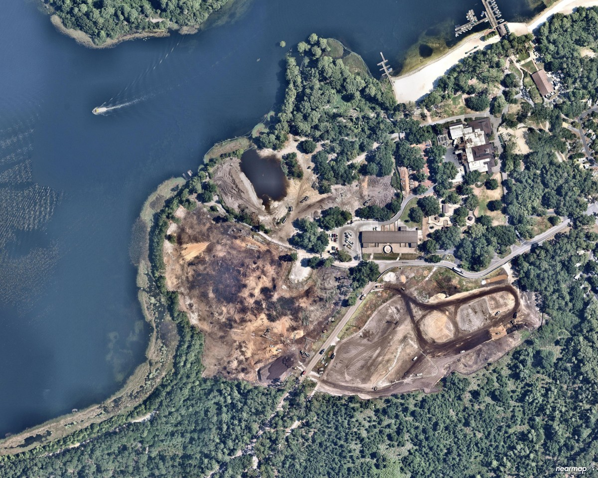 Riveria Resort Construction Map