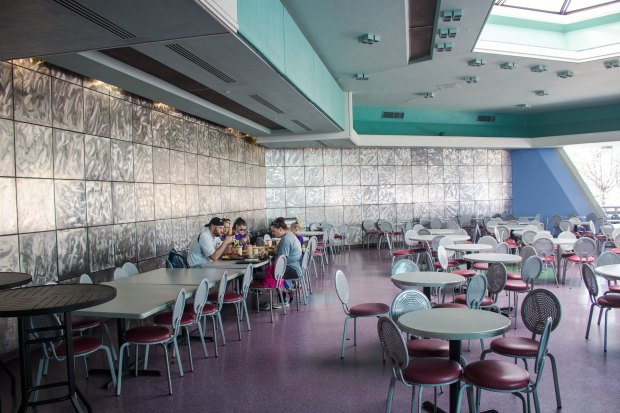 Tomorrowland Terrace Seating Area
