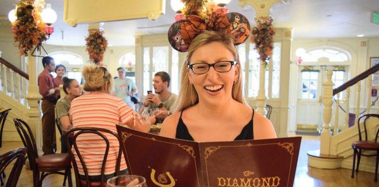 Eating at the Diamond Horseshoe Revue
