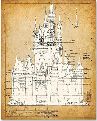 Cinderella Castle Blueprint