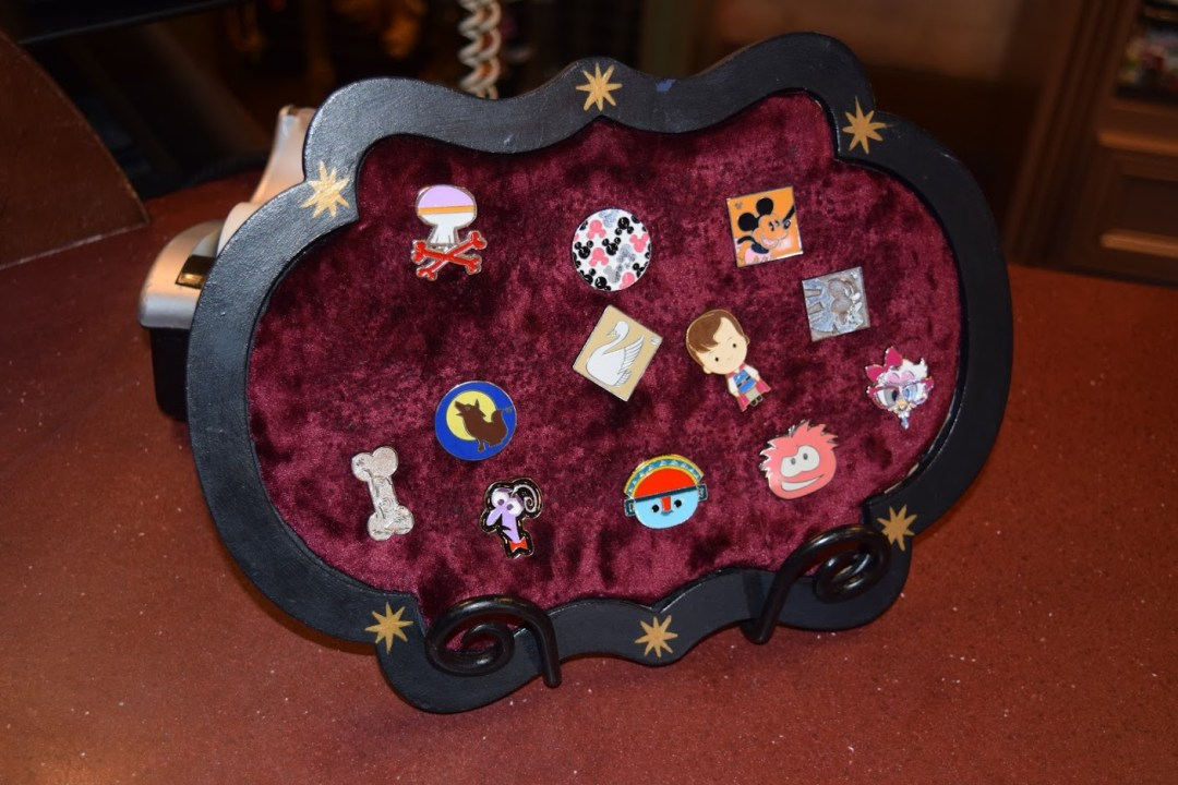 New Orleans Square pin board