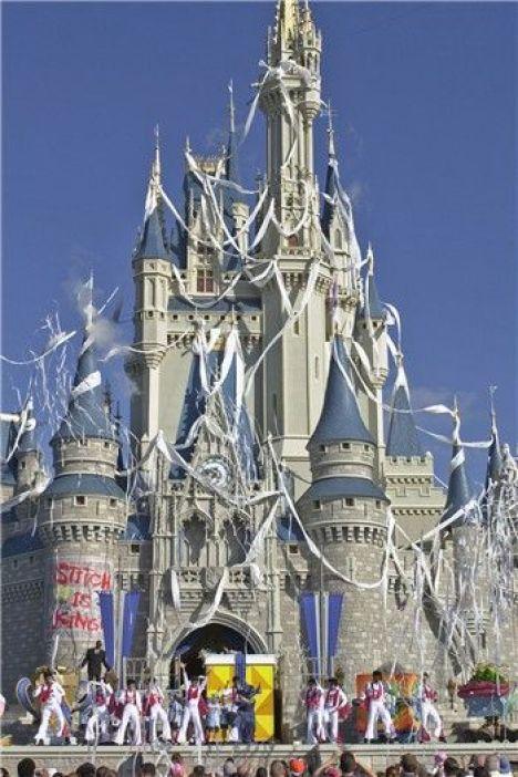 Stitch Castle makeover magic kingdom