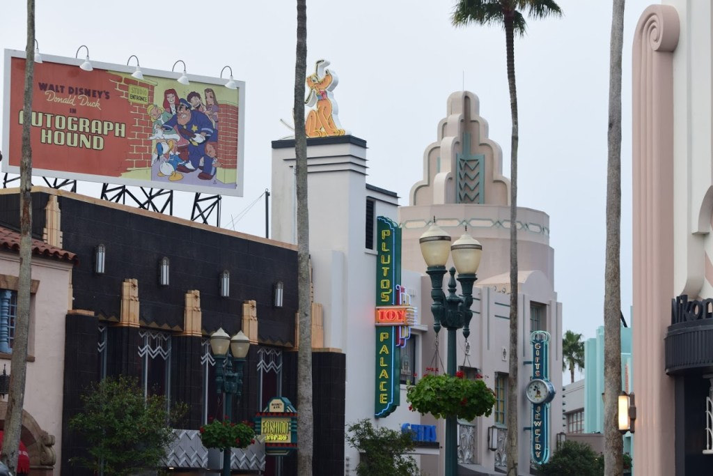 Billboard on Hollywood Boulevard Disney