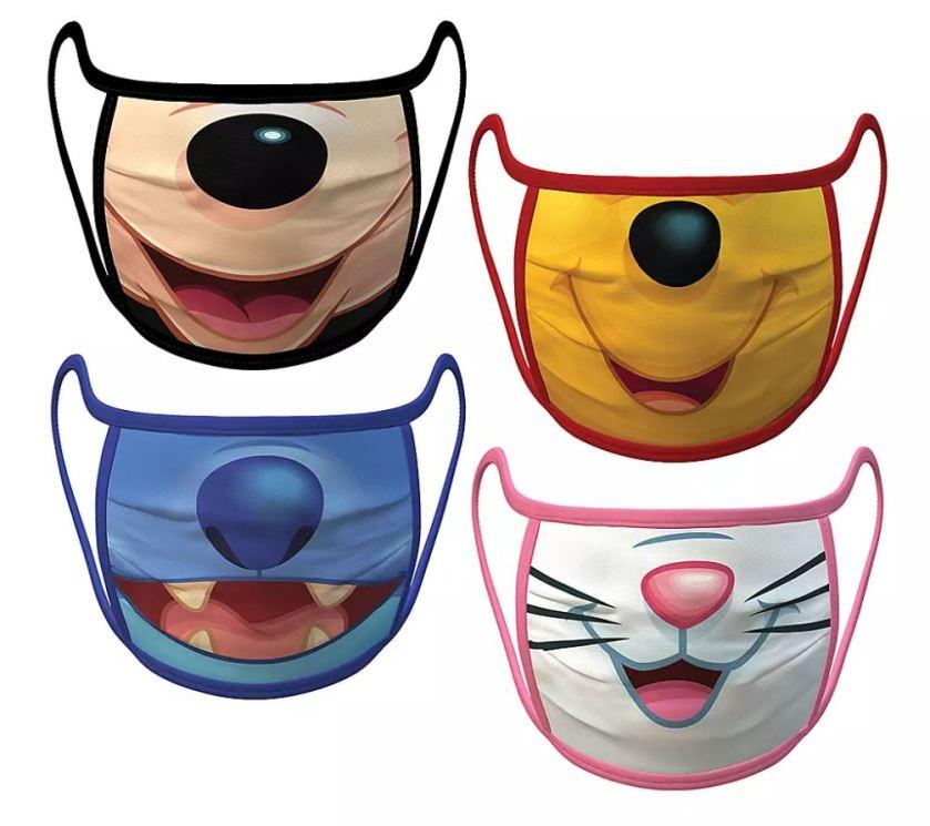 Disney CHaracter Face Masks