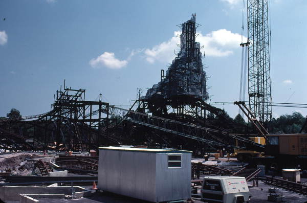 Thunder Mountain under construction