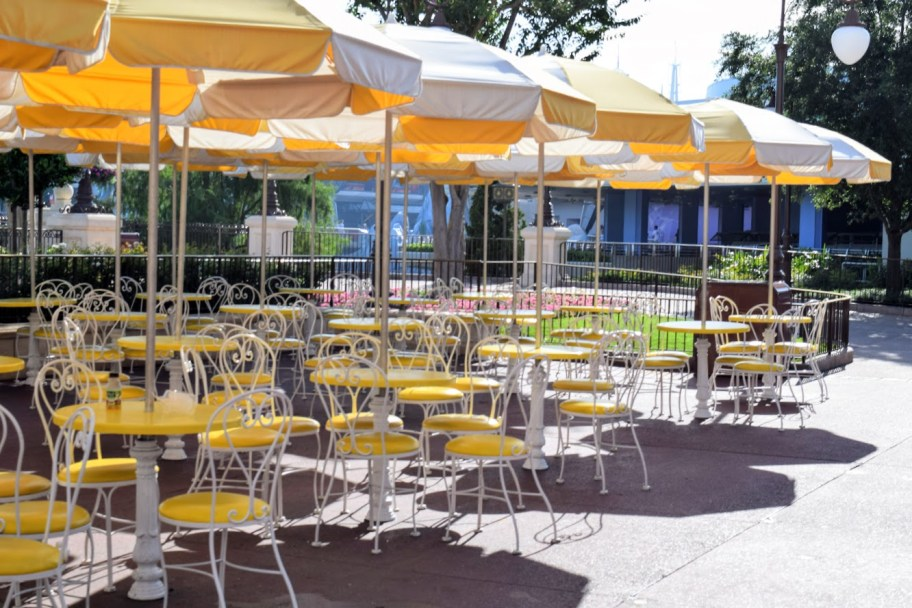 Disney Seating Area