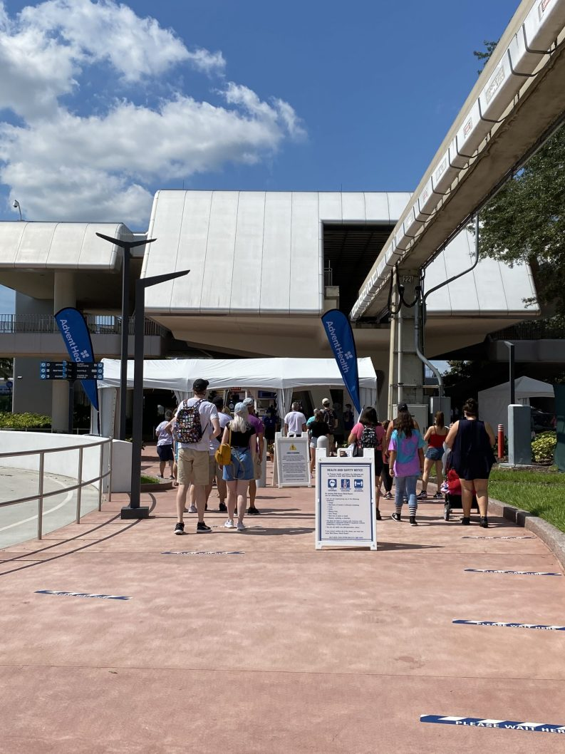 Disney Park Entrance COVID