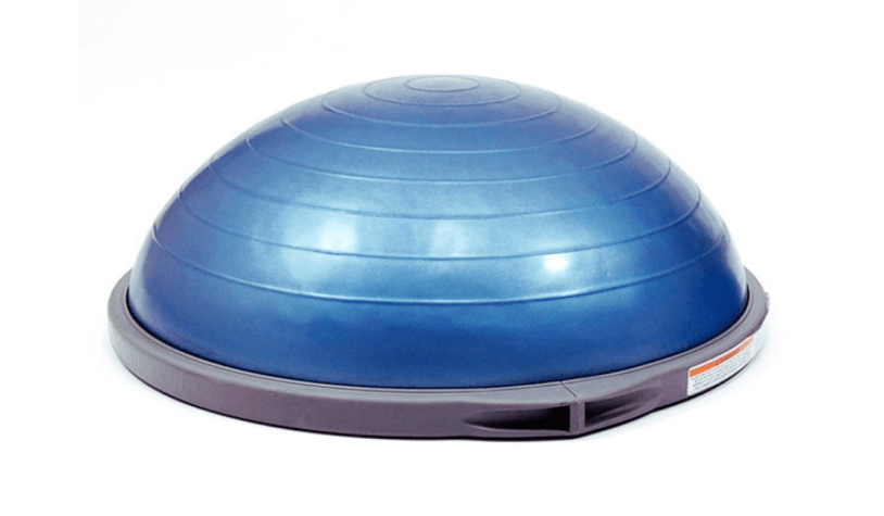 How to Use A BOSU Ball to Strengthen Your Core Muscles