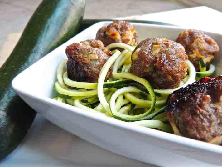 Recipe for Apple Pork Meatballs