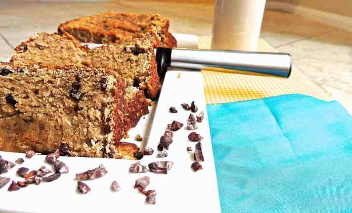 Cinnamon, Almond, and Coconut Banana Bread