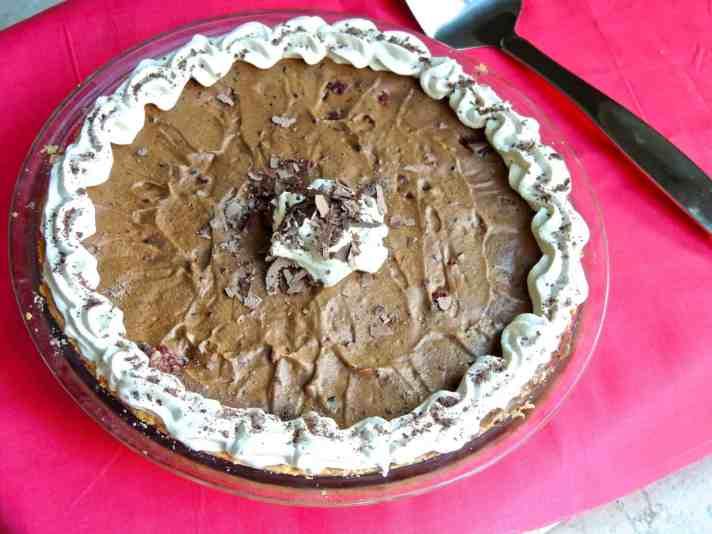 Raspberry Silk Pie