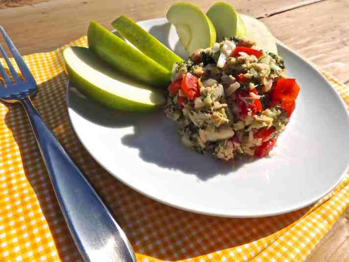 Salmon and Tuna Salad Recipe