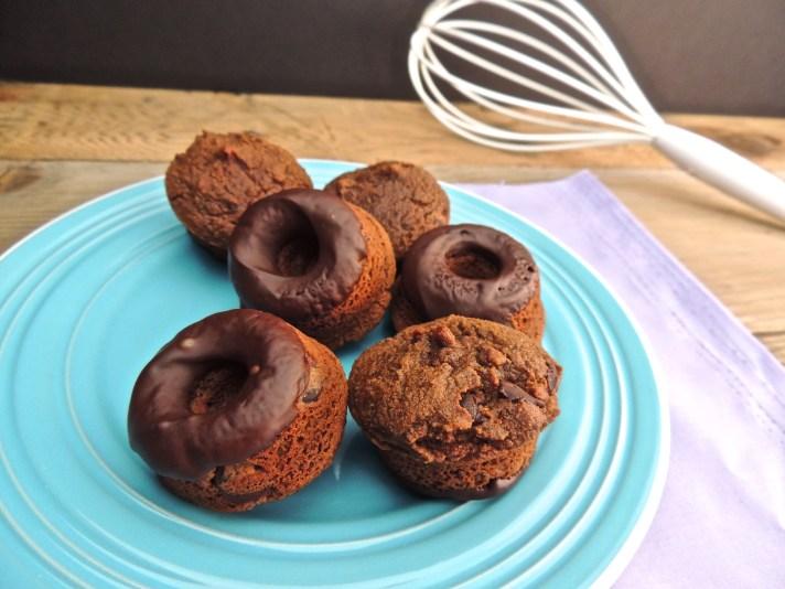 Chocolate Chip Mini Donut Muffin Tops Recipe
