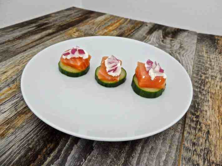 Healthy Cucumber Rounds Recipe