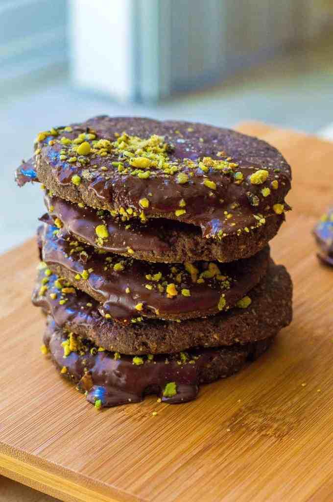 Pistachi-OMG I'm Sea-ing Nutella Cookies Recipe