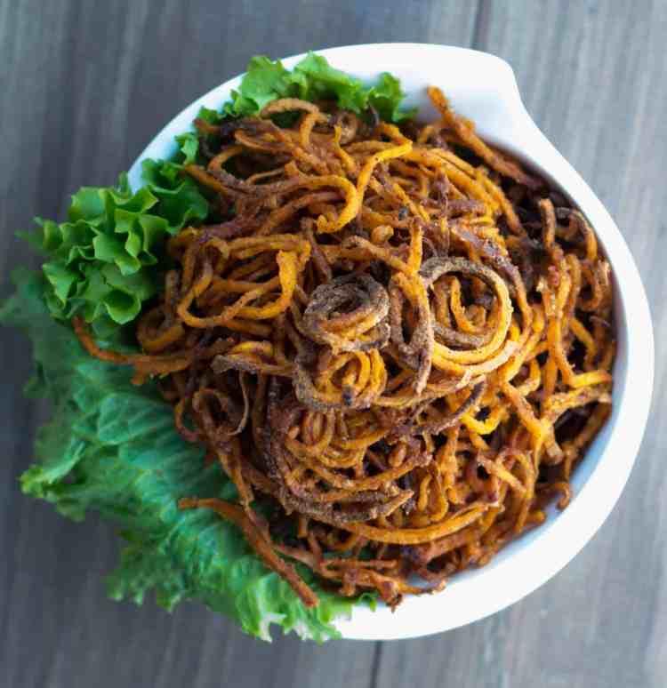 The Movement Menu - Super Skinny Sweet Potato Fries