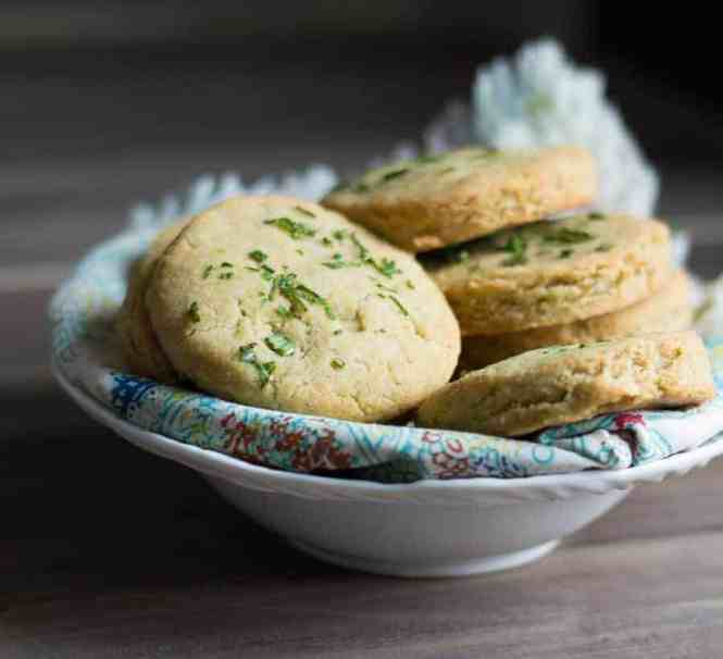 The Movement Menu - Ghee Infused Chive Biscuits