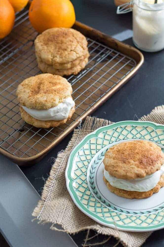 The Movement Menu - Orange Cardamom Breakfast Scone-Wiches