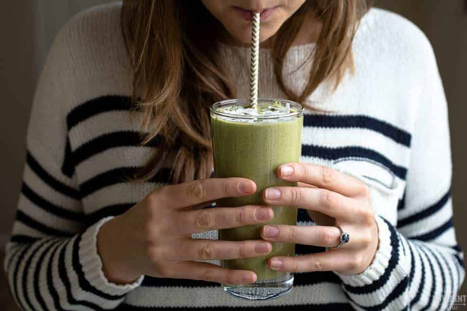 This post workout green smoothie recipe is equally nutritious and delicious. Something to look forward to after a tough workout! TheMovementMenu.com