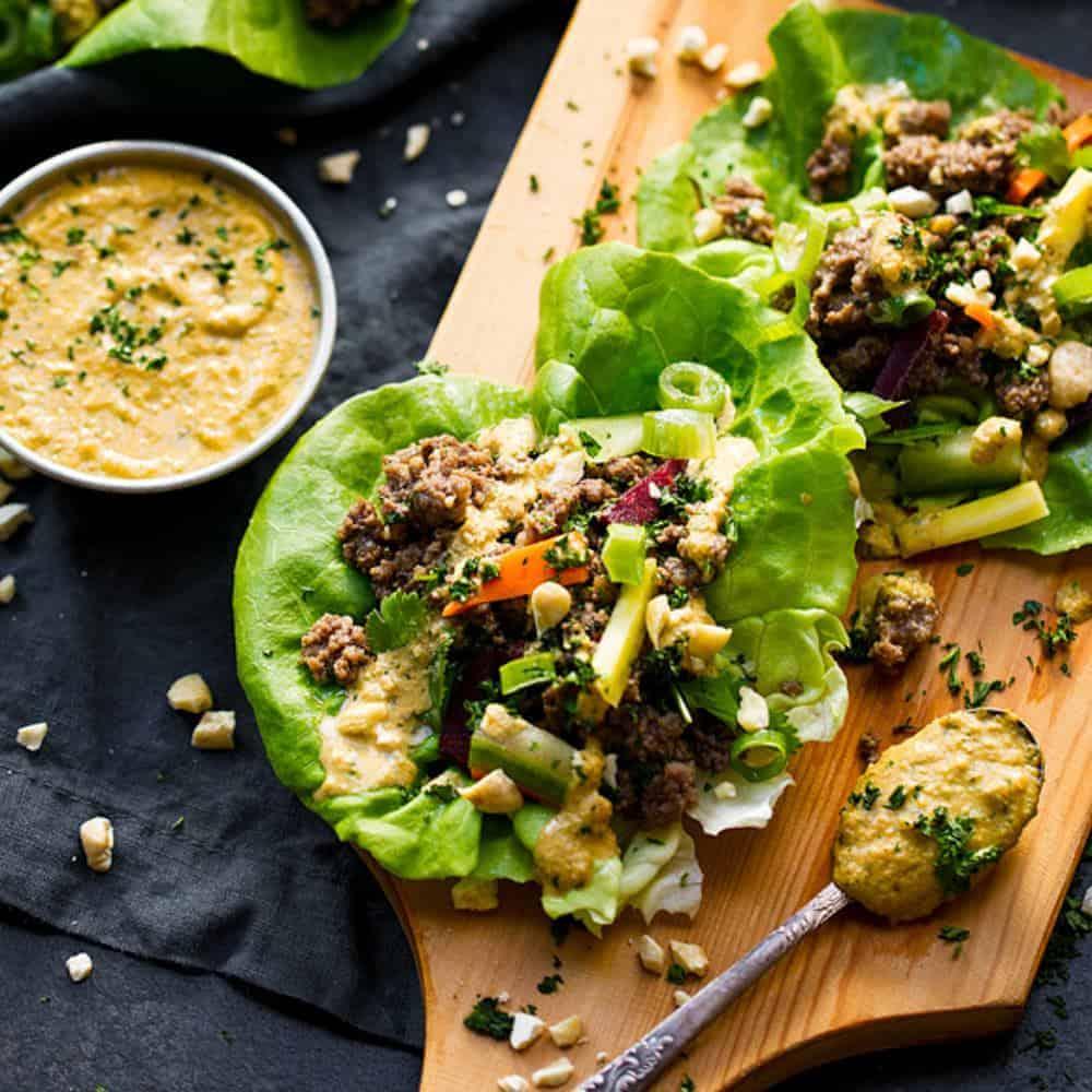 Easy Whole30 Lettuce Wraps. Healthy lettuce wraps recipe. Easy lettuce wraps. Asian style beef lettuce wraps. Paleo lettuce wraps recipe here! Whole30 lettuce tacos. Whole30 lettuce wrap tacos. Easy whole30 dinner recipes. Whole30 meal ideas. whole30 meal plan. Whole30 snacks. Whole30 recipes. Whole30 lunch. Whole30 meal planning. Whole30 meal prep. Healthy paleo meals. Healthy Whole30 recipes. Easy Whole30 recipes.