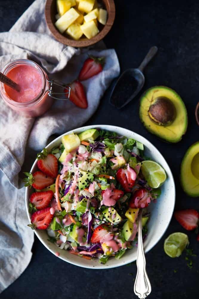 Paleo Strawberry Avocado Salad recipe
