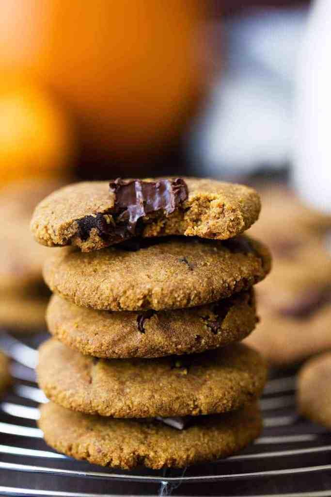 Paleo Pumpkin Cashew Butter Cookies